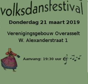 Volksdansfestival 2019 @ Verenigingsgebouw