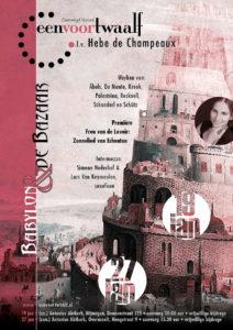 """Concert """"Babylon en de Bazaar"""" @ Anthonius Abt kerk"""