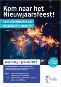 Nieuwjaarsfeest 2019 Gemeente Heumen @ Terp heumen
