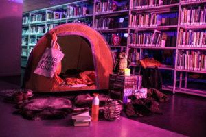 Een spannend logeerpartijtje in de bieb @ Bibliotheek Overasselt