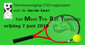 Meet the Ball toernooi @ Tennispark van LTVO