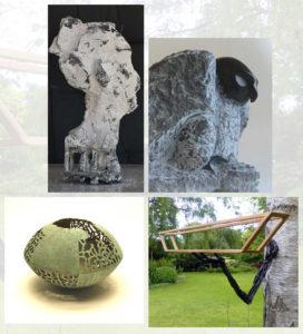 Beeldhouwers uit Brabant en Gelderland exposeren samen @ Atelier Gonny Beljaars