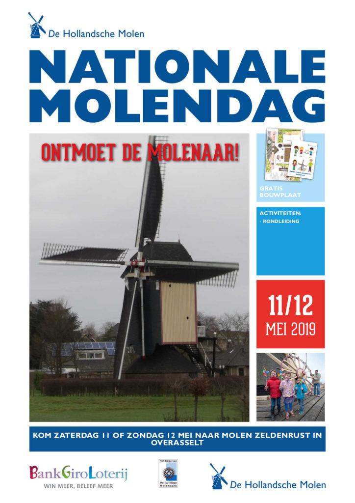 Bezoek molen Zeldenrust op Nationale Molendag @ Molen Zeldenrust