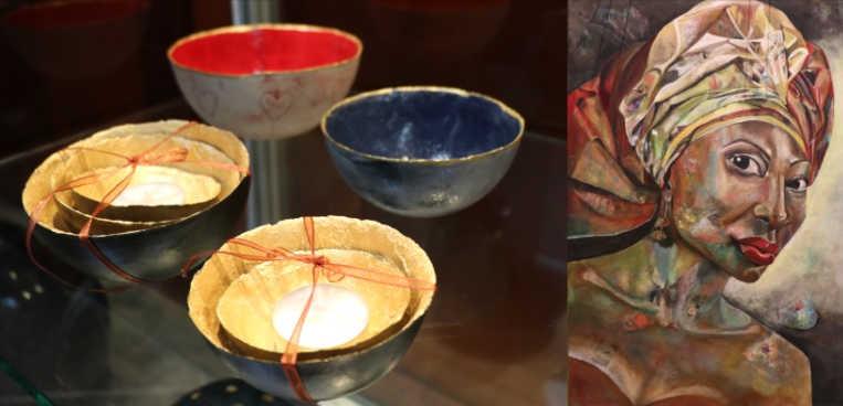 Expositie schilderijen en keramiek in Verenigingsgebouw @ Verenigingsgebouw