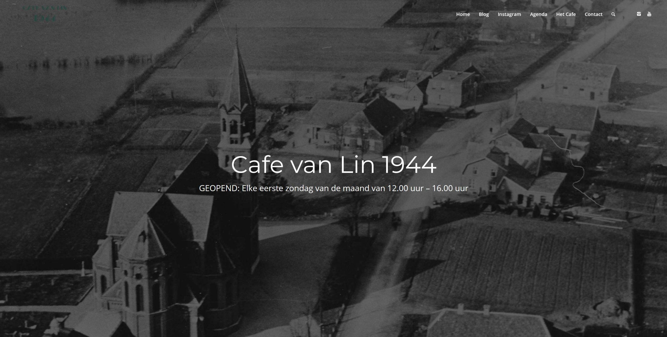 Café van Lin 1944 geopend @ Cafe van Lin 1944